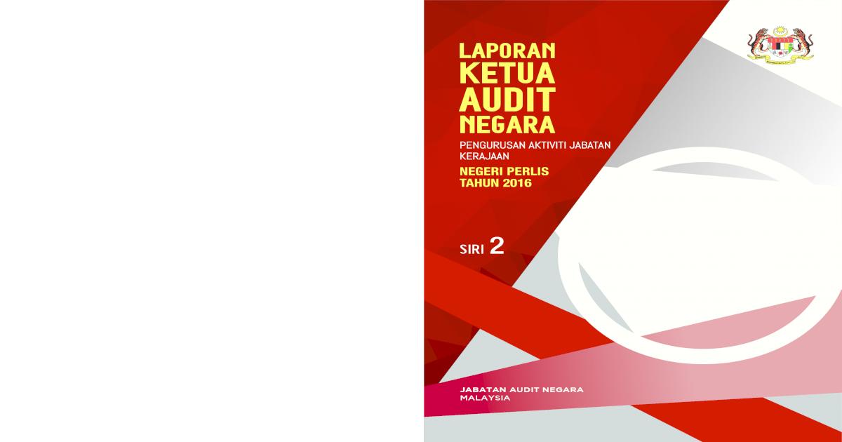 Laporan Ketua Audit Aktiviti Utama Yang Dilaksanakan Oleh Jps Bertujuan Untuk Memelihara Rejim